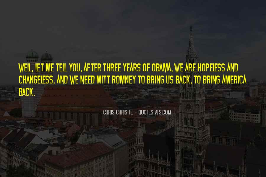 Quotes About Romney And Obama #1671916