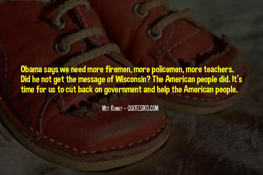 Quotes About Romney And Obama #1717286