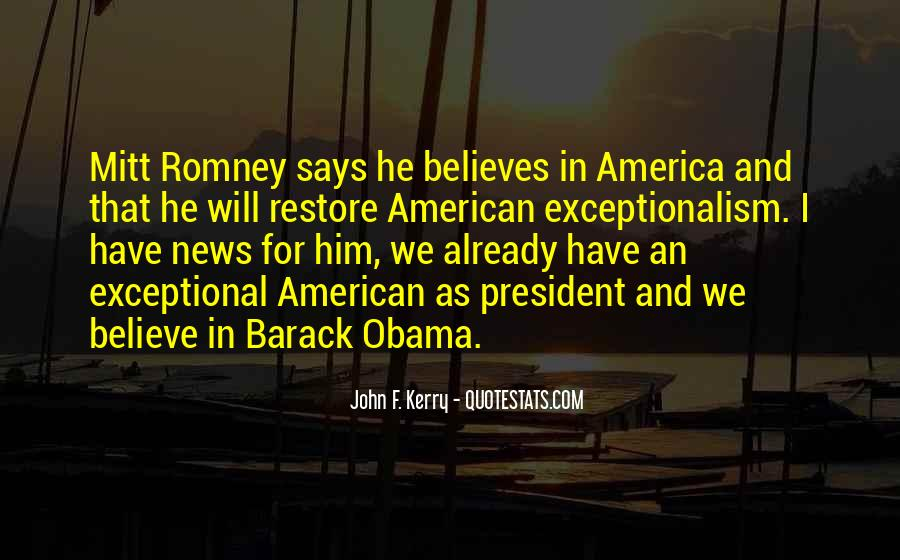 Quotes About Romney And Obama #1732670