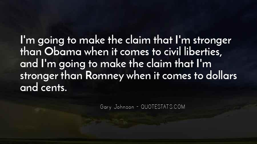 Quotes About Romney And Obama #1784913