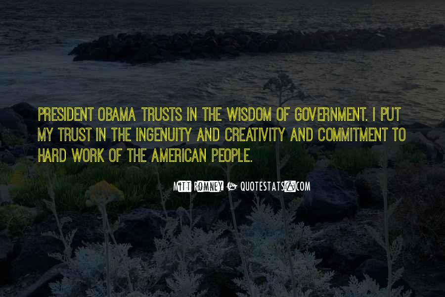 Quotes About Romney And Obama #1832946