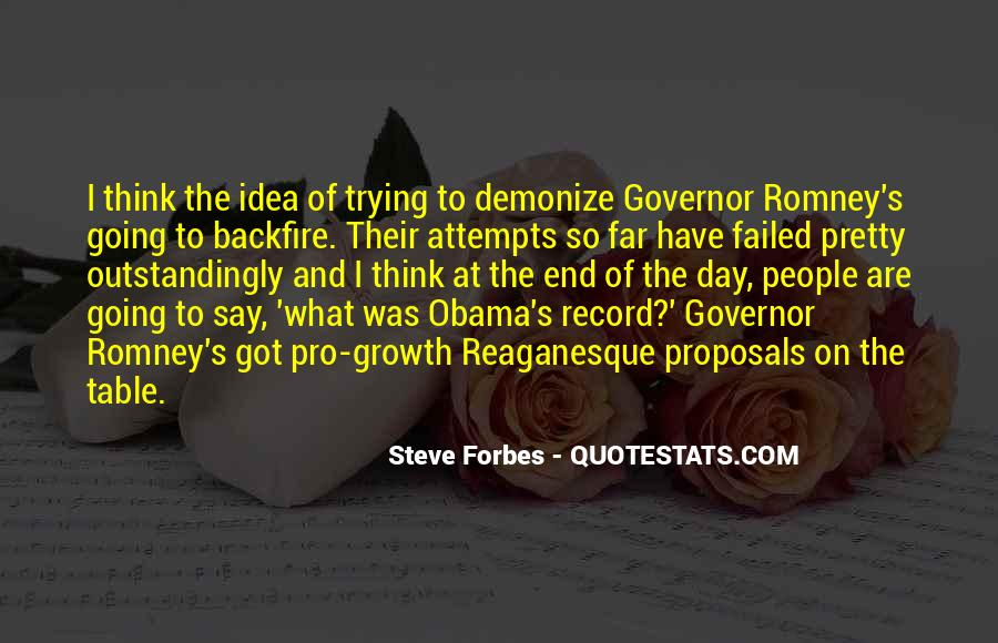Quotes About Romney And Obama #1846308