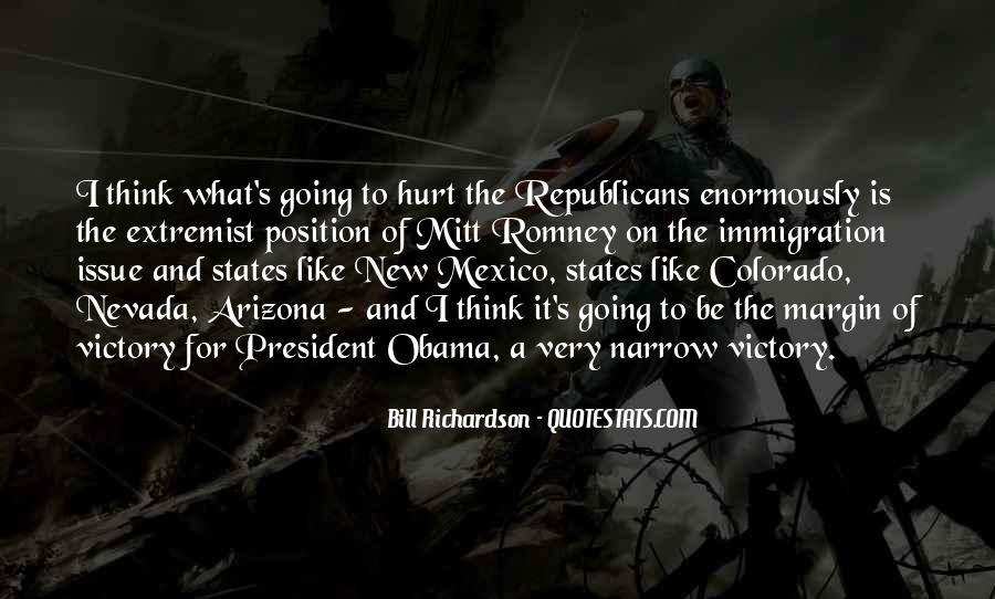 Quotes About Romney And Obama #1858817
