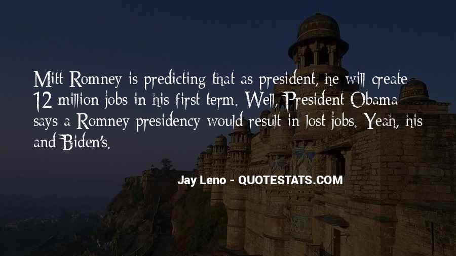 Quotes About Romney And Obama #205093
