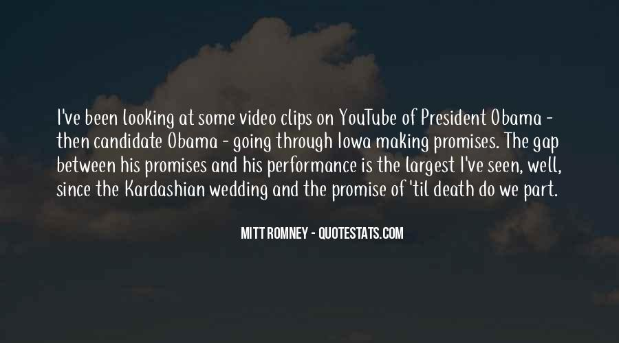 Quotes About Romney And Obama #228833