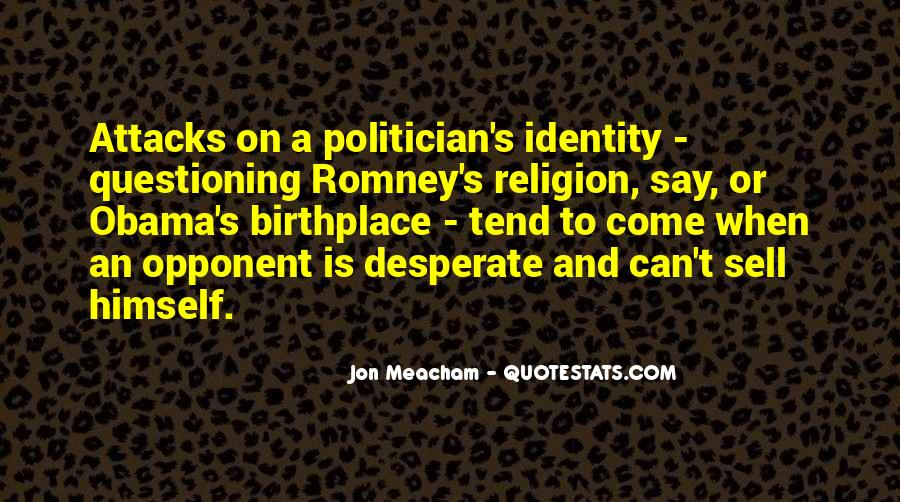 Quotes About Romney And Obama #237564