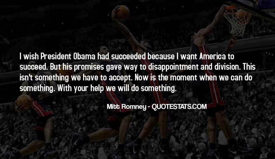 Quotes About Romney And Obama #272373