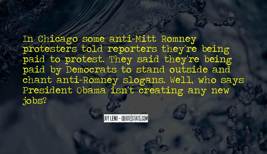 Quotes About Romney And Obama #274706