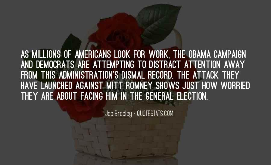Quotes About Romney And Obama #425795