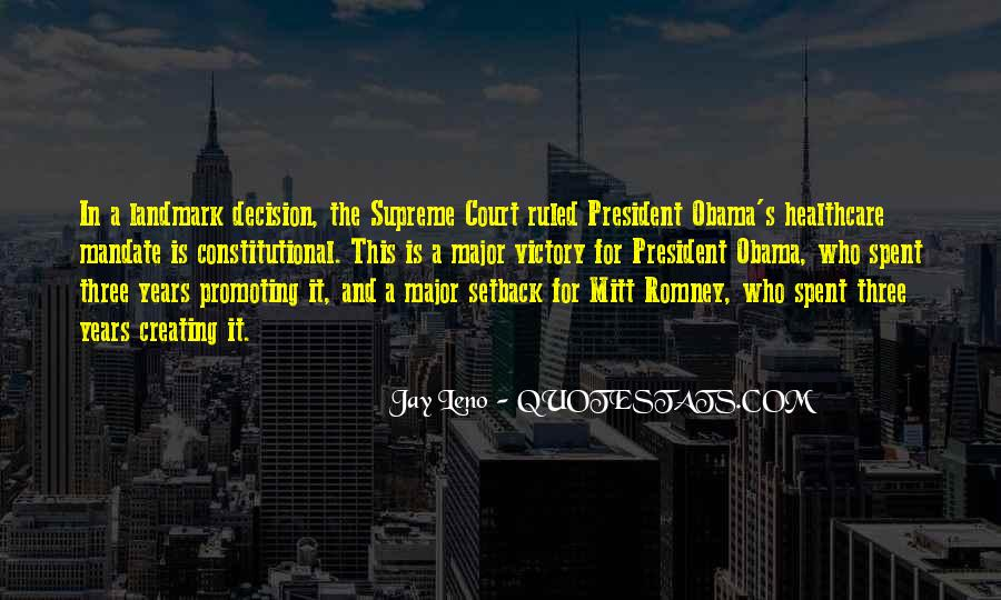 Quotes About Romney And Obama #429678