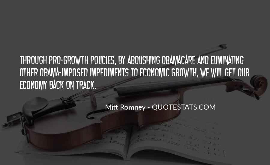 Quotes About Romney And Obama #488771