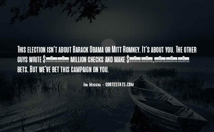 Quotes About Romney And Obama #554053