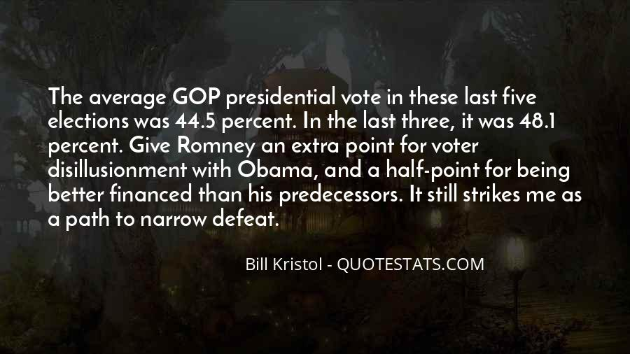 Quotes About Romney And Obama #608553