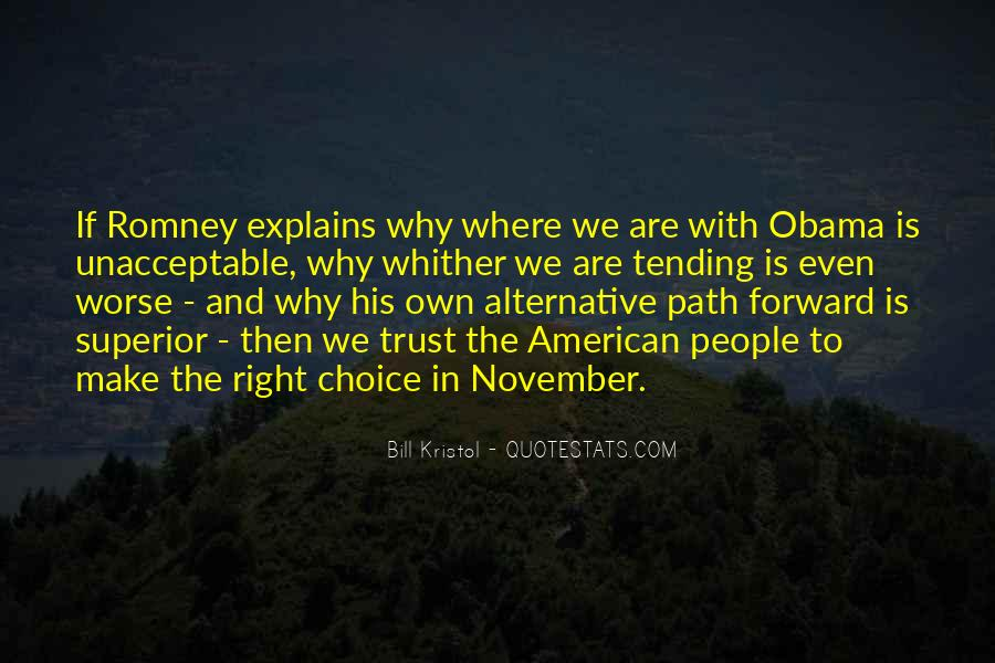 Quotes About Romney And Obama #642734