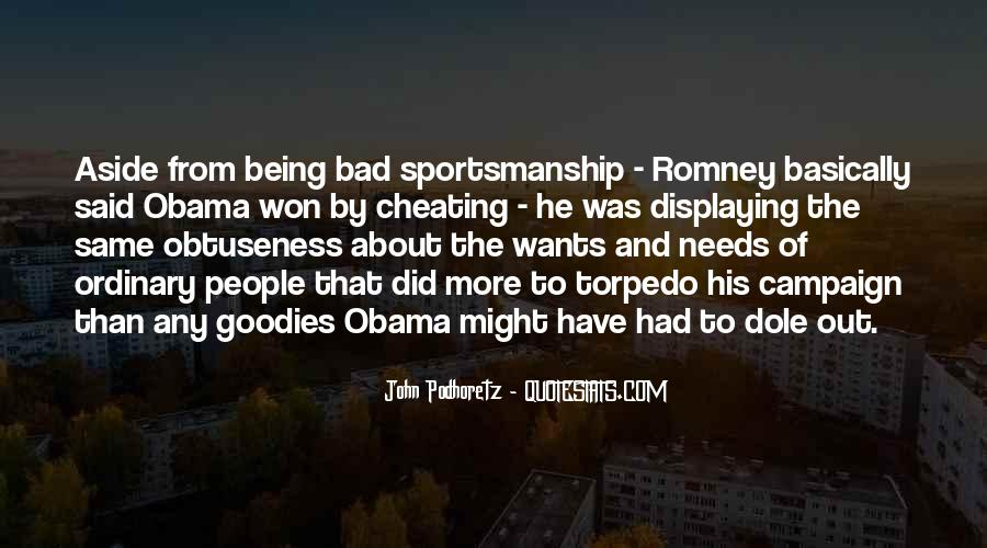Quotes About Romney And Obama #663391