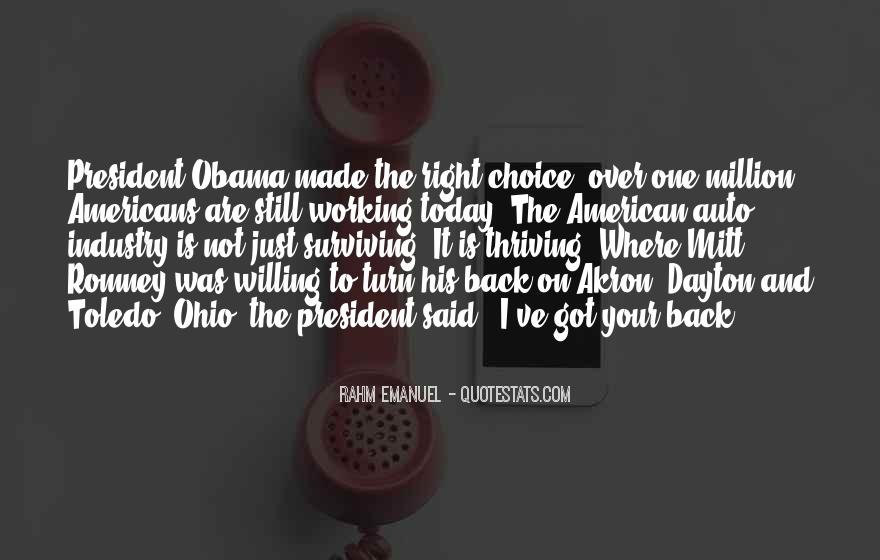 Quotes About Romney And Obama #697681