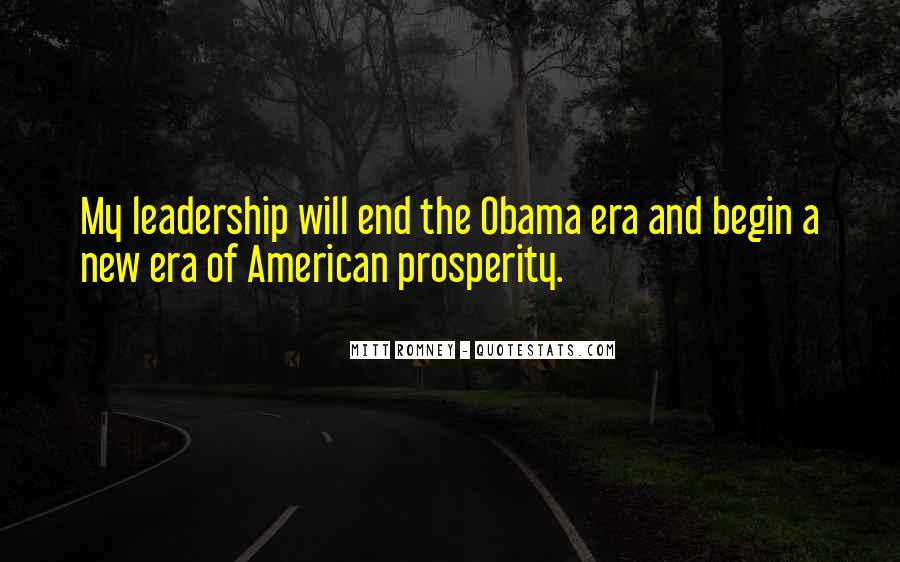 Quotes About Romney And Obama #738214