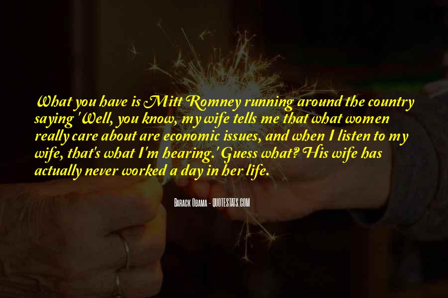 Quotes About Romney And Obama #8514