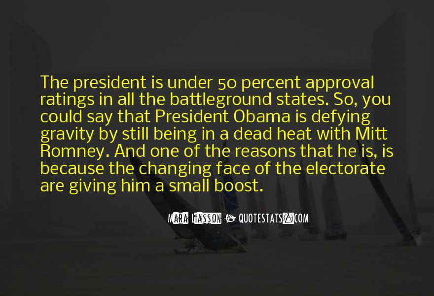 Quotes About Romney And Obama #87138