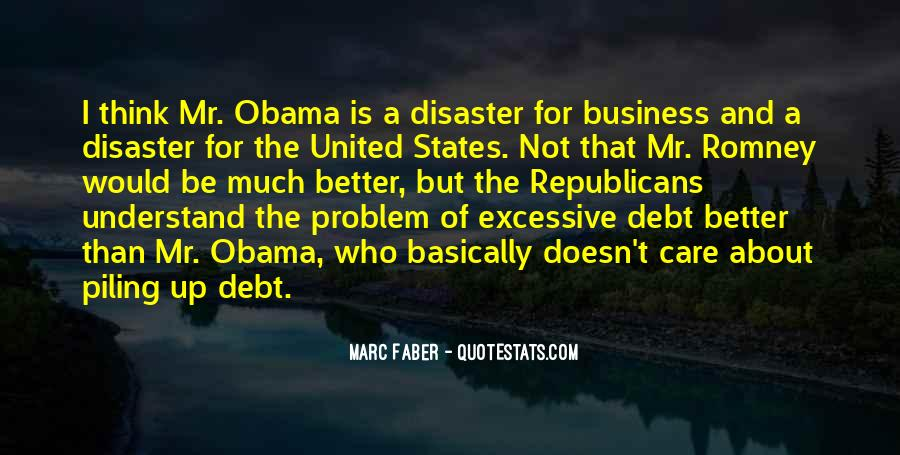 Quotes About Romney And Obama #905770