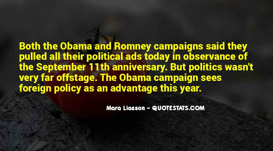 Quotes About Romney And Obama #954936