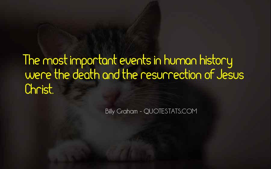Quotes About Important Events #319157