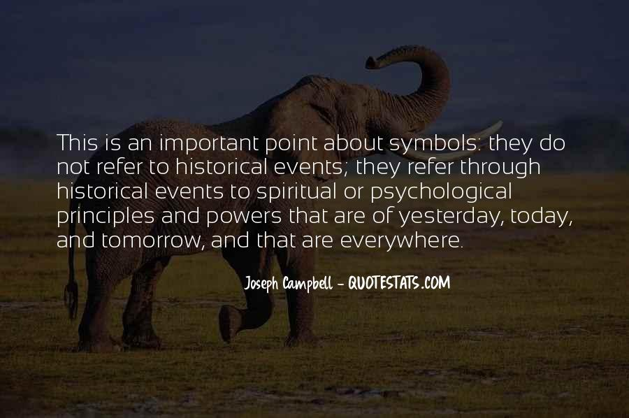 Quotes About Important Events #584854