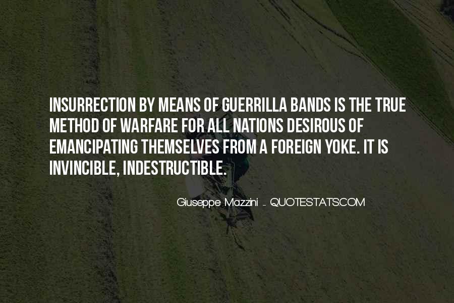 Quotes About Guerrilla Warfare #1111165