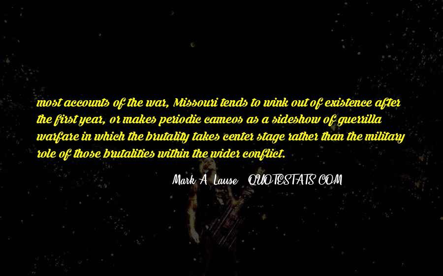 Quotes About Guerrilla Warfare #1459668