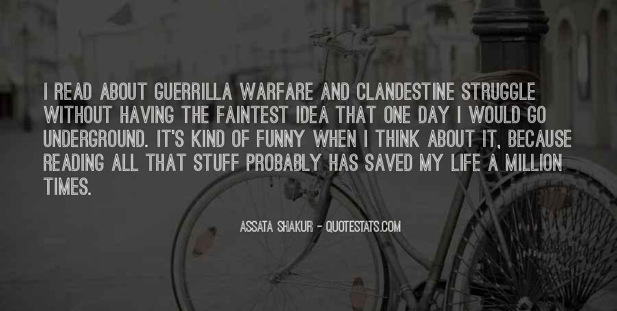 Quotes About Guerrilla Warfare #1802345