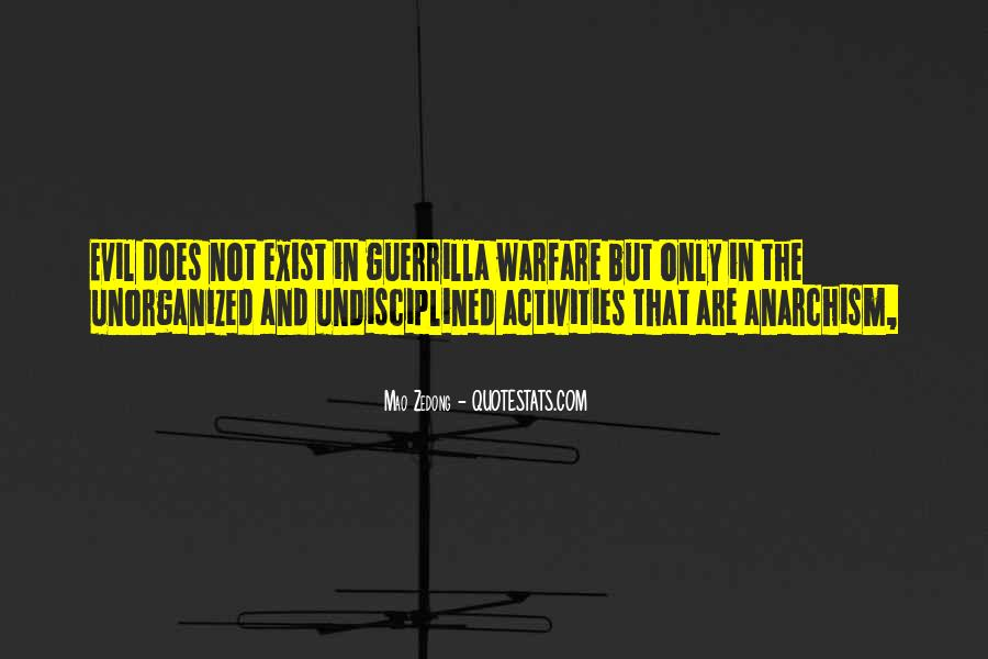 Quotes About Guerrilla Warfare #1879174