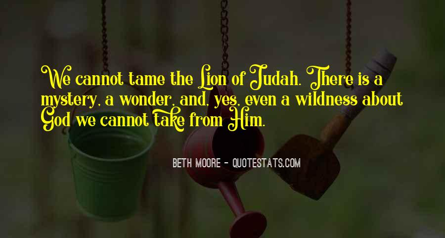 Quotes About Lion Of Judah #1247325