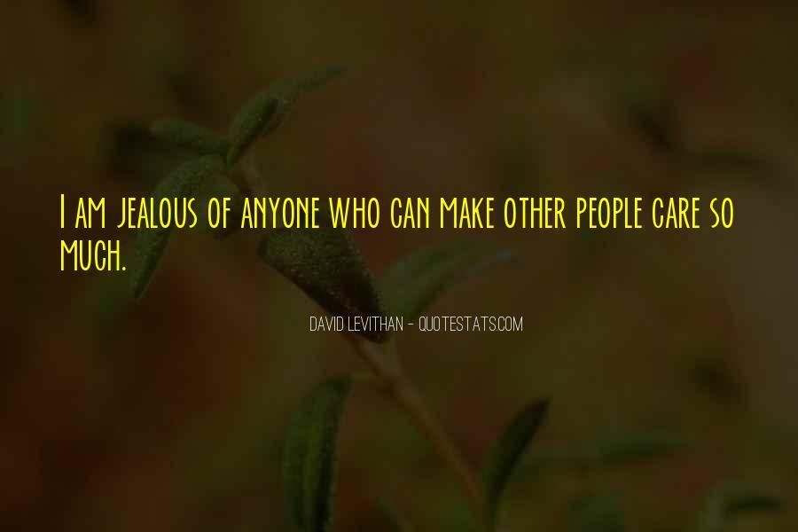 Quotes About Jealous Ex #8579