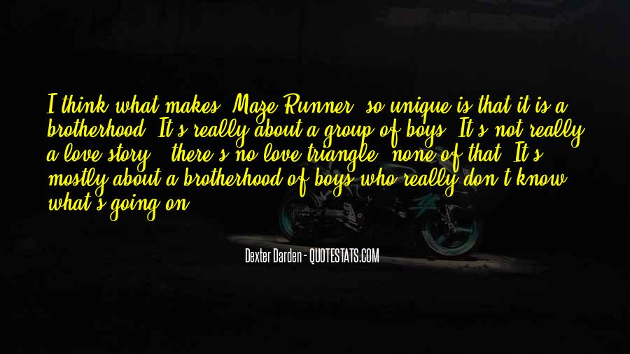 Quotes About A Love Triangle #1640393