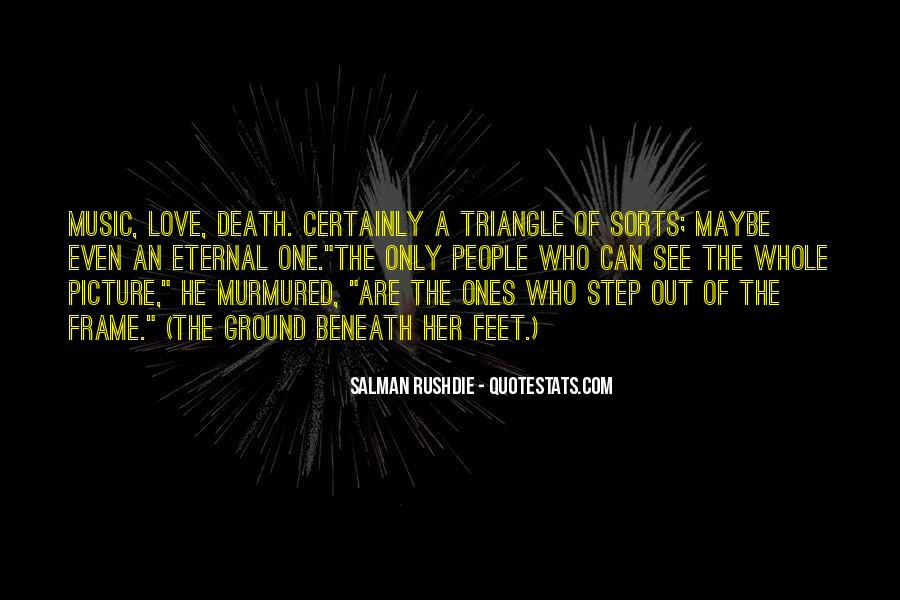 Quotes About A Love Triangle #186031