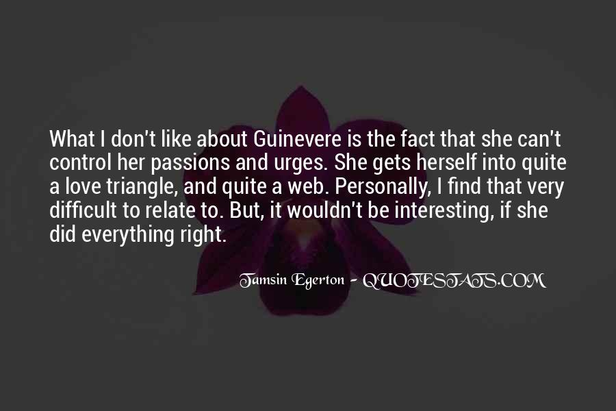 Quotes About A Love Triangle #326622