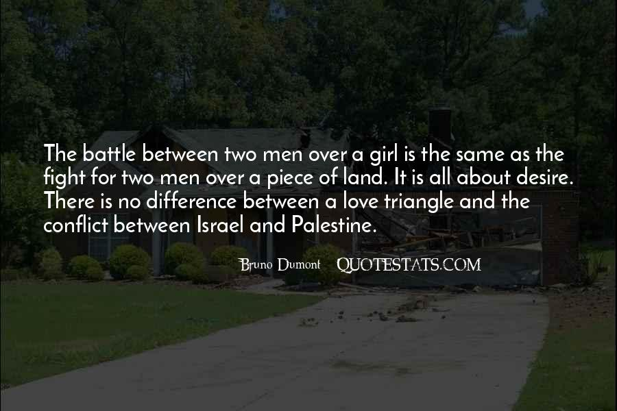 Quotes About A Love Triangle #868682