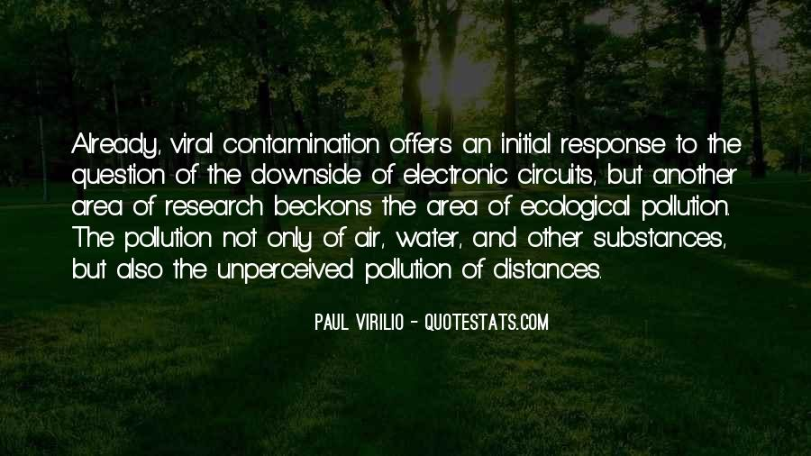 Quotes About Water Pollution #1739873