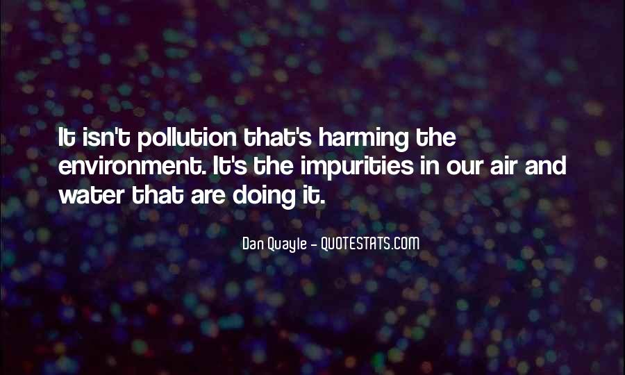Quotes About Water Pollution #177809