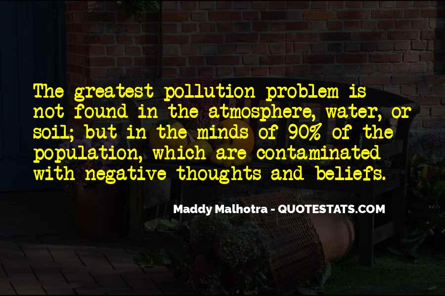 Quotes About Water Pollution #452328