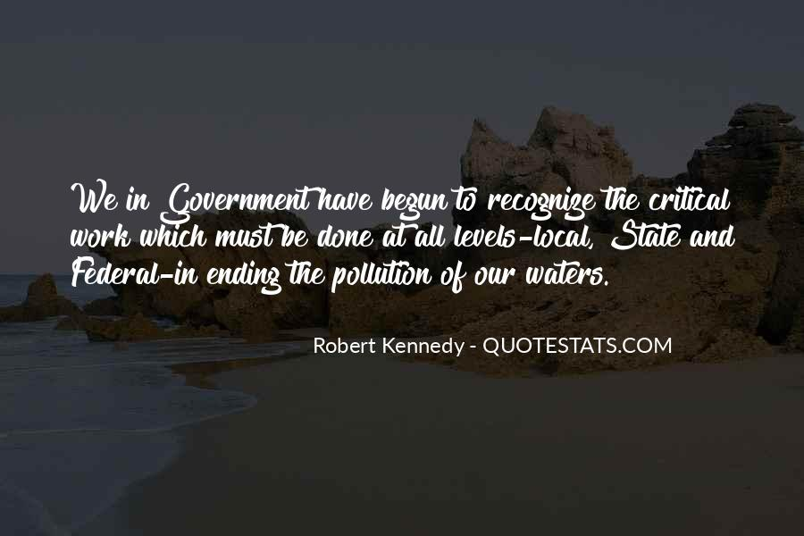 Quotes About Water Pollution #653359