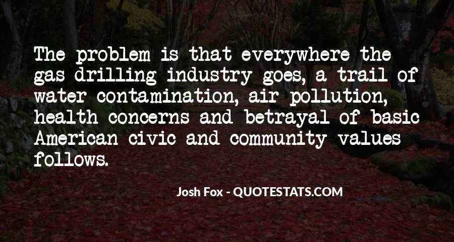Quotes About Water Pollution #703627