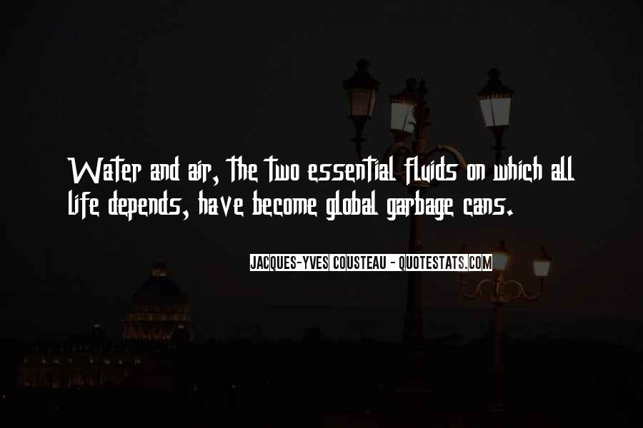 Quotes About Water Pollution #741041