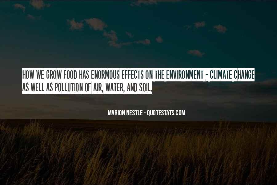 Quotes About Water Pollution #839695