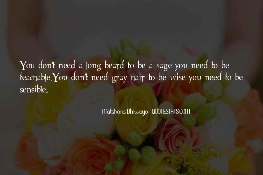 Quotes About Sage Wisdom #750075