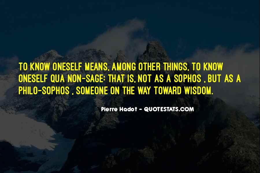 Quotes About Sage Wisdom #984652