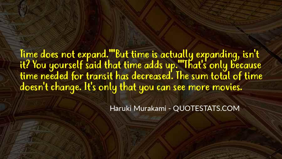 Quotes About Expanding #185549
