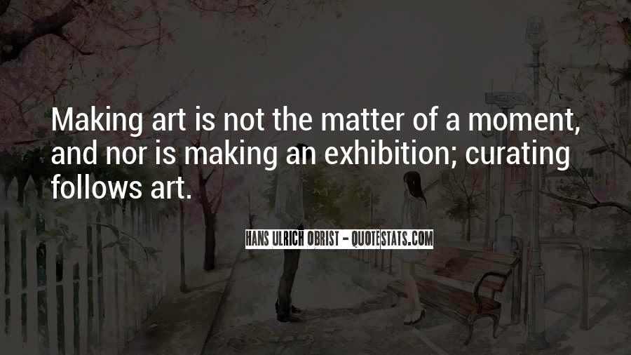 Quotes About Making Art #130450