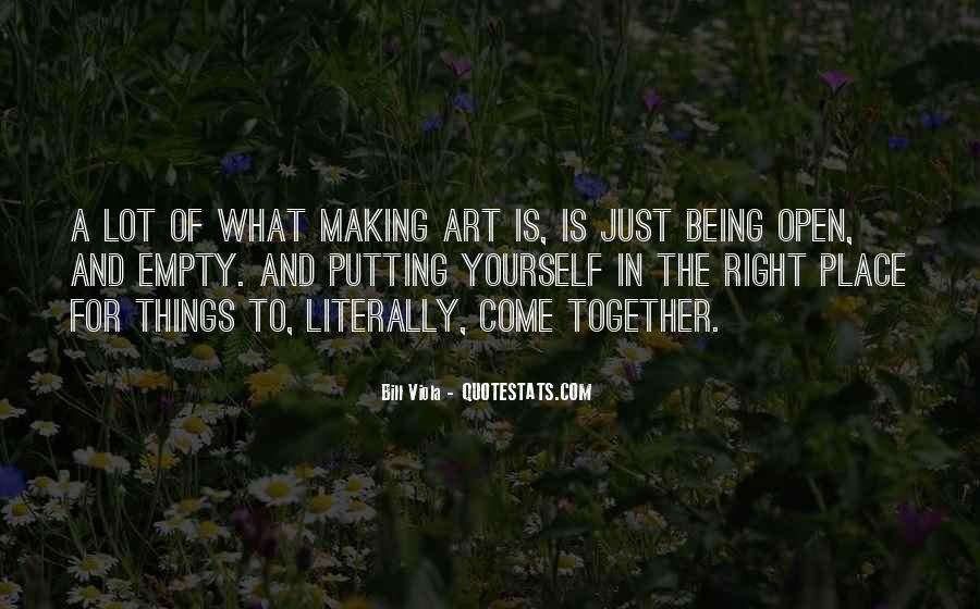 Quotes About Making Art #136942