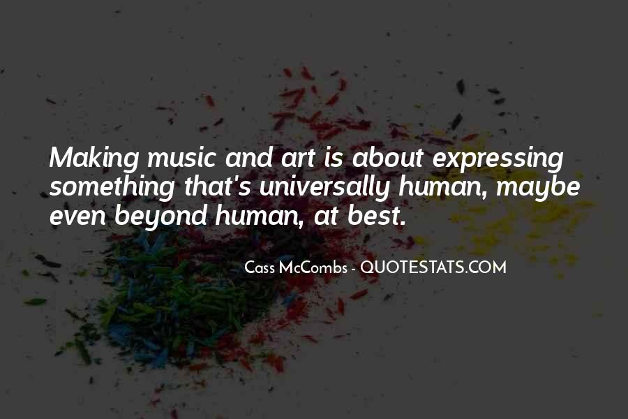 Quotes About Making Art #23494